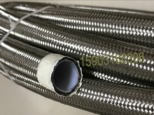 1m x Silver PTFE Teflon Lined Stainless Braided Hose AN16 Fuel Oil Fluid Petrol Line 400ml ptfe teflon lined hydrothermal synthesis autoclave reactor lined vessel inner sleeve high pressure digestion tank