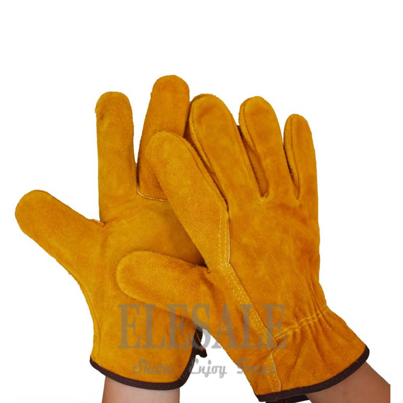 Cowhide Leather Welding Gloves Work Safety Hands Protection Gloves Fireproof Anti-Heat Leather Gloves For Welder Hands Safety шина amtel nordmaster 2 m 507 185 70 r14 88q шип
