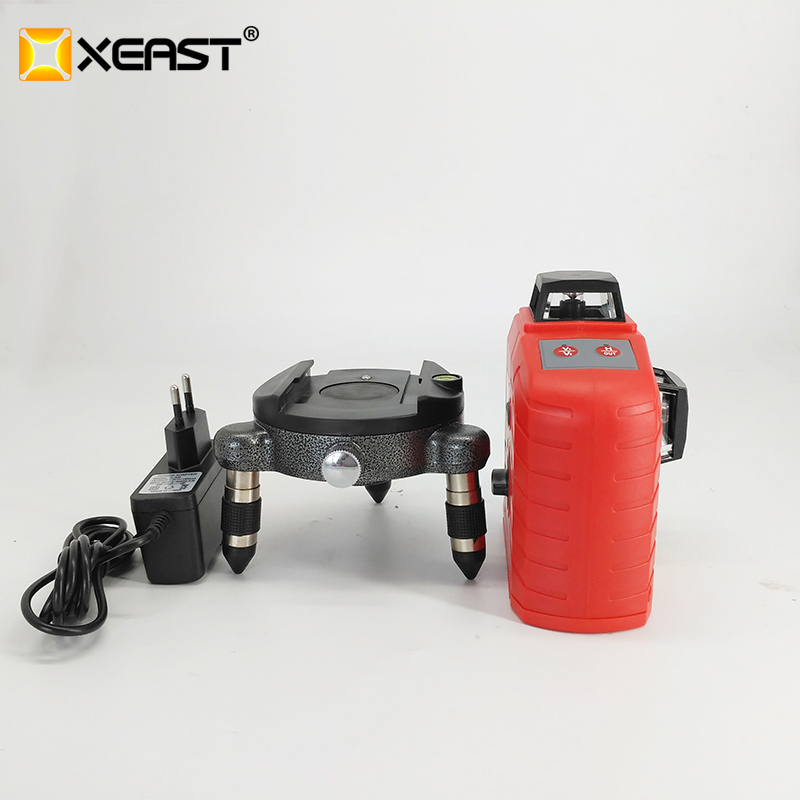 XEAST XE 65D 12 Line 3D laser level 360 Vertical And Horizontal 3D Laser Level Self