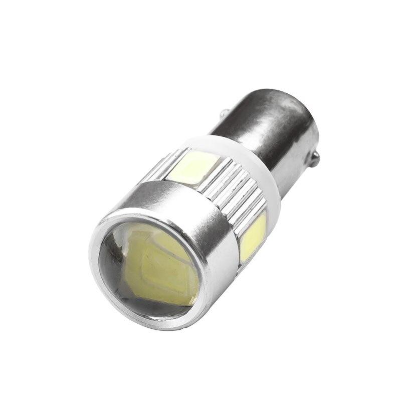 2 шт. т4w о ba9s 5730 6smd проектор салона белый сторона хвост свет т11 6 СМД 5630 светодиодные авто парковка лампы красный синий желтый 12 в