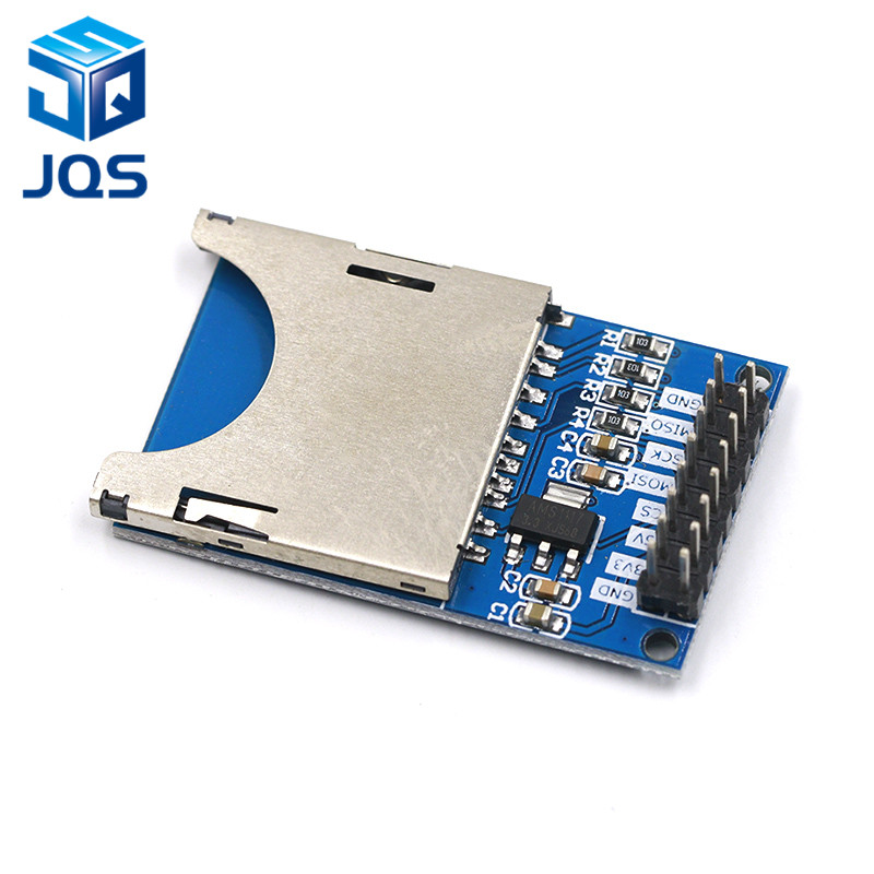 Smart Electronics Reading and Writing Module SD Card Module Slot Socket Reader ARM MCU for arduino DIY Starter KitSmart Electronics Reading and Writing Module SD Card Module Slot Socket Reader ARM MCU for arduino DIY Starter Kit