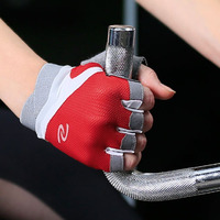 LongKeeper Breathable Men Women Gym Gloves Weight Lifting Dumbbell Gloves Body Building Exercise Sports Fitness Gloves