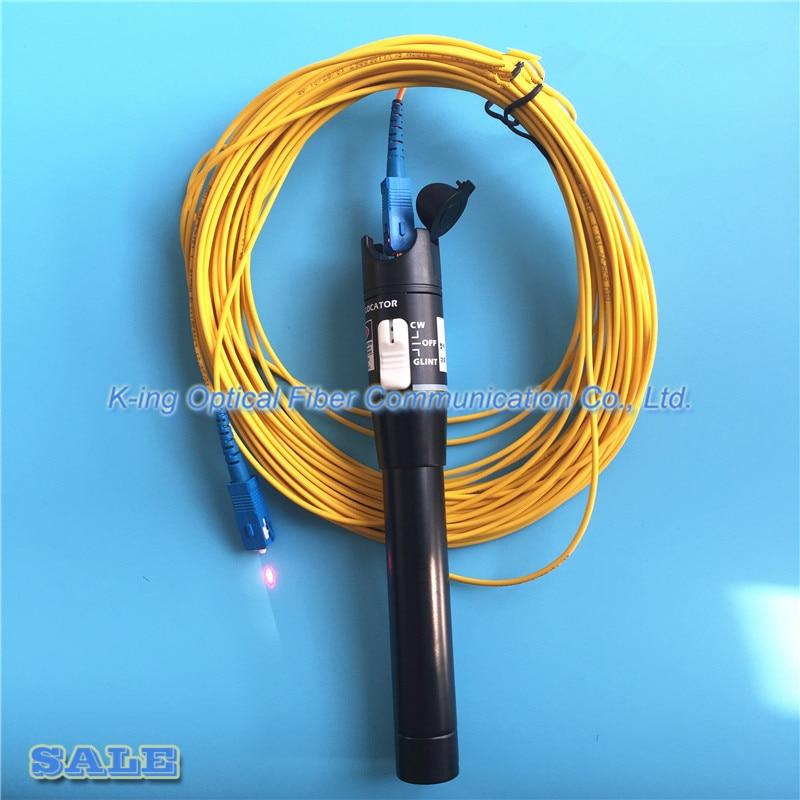 Rei GC-50 Honesto 50 mW VFL 50 km localizador visual de falhas De Fibra óptica caneta detector fora pw:> 50 mW Localizador Visual de Falhas