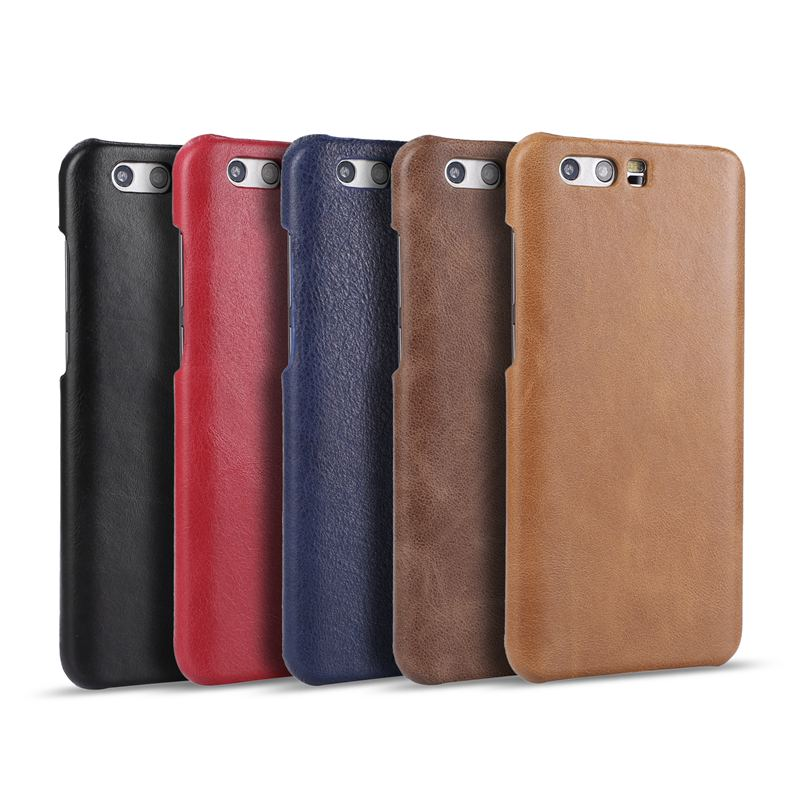 Genuine Leather Case For Huawei Honor 9 Frosted Back Cover Protective Coques For Huawei Honor 9
