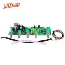 GHXAMP NE5532 Subwoofer Vorverstärker 2,1 Preamp Ton Bord Höhen Bass Ultra niedrigen frequenz Unabhängige Einstellung Dual AC12V 1 pc