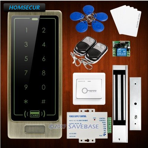 HOMSECUR IP67 Fully-Potted Waterproof Access Control System With 3-7cm Reading Distance + Anti-tamper