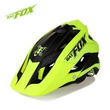 BATFOX Men Women Cycling Helmet Bike Ultralight Helmet Intergrally-molded MTB Road Bicycle Safety Helmet casco ciclismo 56-63CM