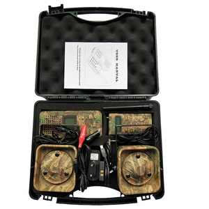 Image 2 - おとり狩猟ブリッド発信 300 500 m Remoteremote 制御 2*50 ワット外部拡声器エレクトロニクス動物発信者狩猟用