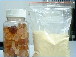500g de alimentos de grado polvo de goma árabe gummi arabicum alimentos en polvo agente Espesante estabilizador