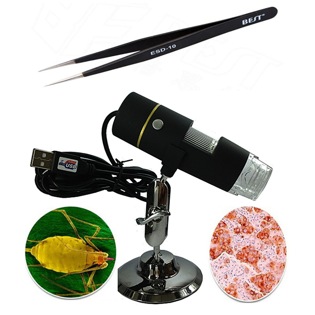 High power 1000x Digital Electronic  Magnifier USB Microscope With 8LED Light Magnification Soldering Stand Lamp portable microscope digital microscoop standaard led light with stand mikroskop microscopio