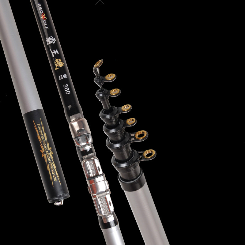 2pcs/lot High Quality Carbon Fiber Rock Fishing Rod Telescopic Fishing Pole Super Short Power XH Ocean Lake Fishing Tackle [sa]takenaka frs2053 fiber line genuine 2pcs lot
