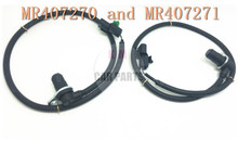 set of 2 oem MR407270 MR407271 Rear left and right ABS Sensor Wheel Speed Sensor for Mitsubishi Montero 06-01 K-M