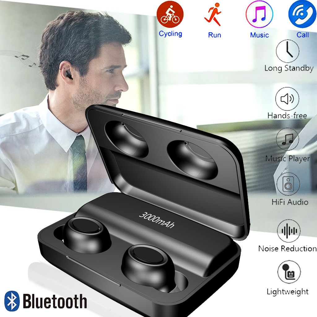 Wireless Earbuds Bluetooth Headphone IPX5 Waterproof Mini Headset For Samsung Galax sport headphone