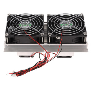 Image 2 - Termoelektryczny peltier układ chłodzenia chłodzenia zestaw półprzewodnikowy chłodnica duży moduł chłodzenia zimnego przewodzenia podwójne wentylatory