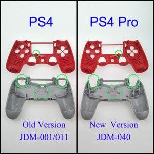 Image 2 - YuXi Sony Playstation 4 Için PS4 Dualshock 4 Eski Sürüm Gamepad Denetleyici Şeffaf Temizle Ön Arka Konut Shell Kılıf Kapak