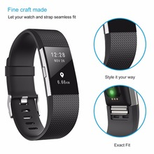 DUSZAKE Accessories For Fitbit Charge 2 Band Replacement Bracelet Strap For Fitbit Charge 2 Band Wristband For Fitbit Charge 2