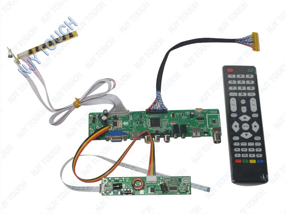 LA.MV56U.A New Universal HDMI USB AV VGA ATV PC LCD Controller Board for 23inch 1920x1080 LC230EUE-TDA1 LED LVDS Monitor Kit new 23 inches lm230wf5 tld1 1920 x1080 lm230wf5 tld1 lm230wf5tld1 tld2