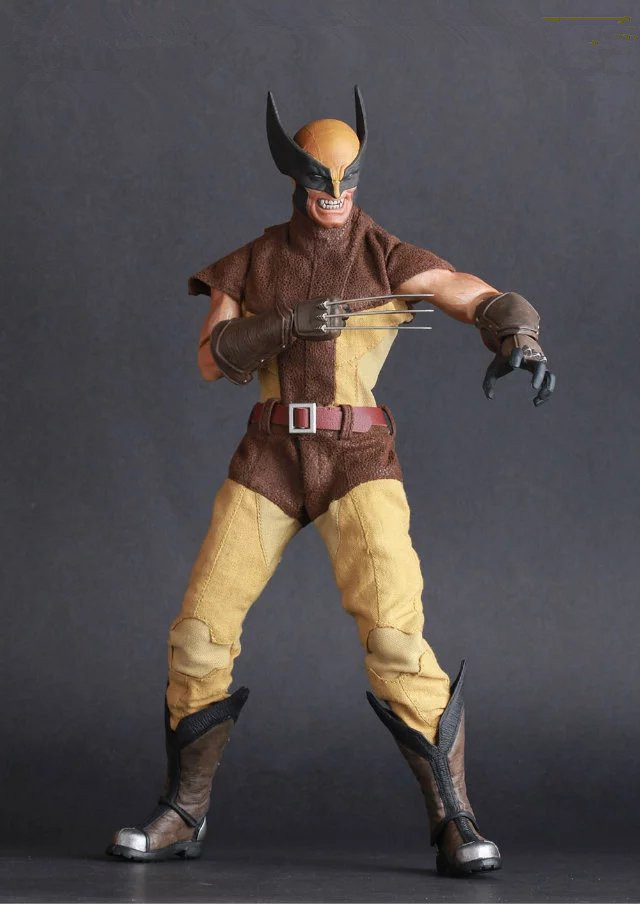 ФОТО Movie Figure 30 CM Wolverine 1/6TH Real Clothes Scale PVC Action Figure Toys Collections Model Chiritstmas Gift