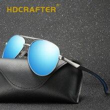 7626a0ca288399 HDCRAFTER Classique Hommes Polarisées lunettes de Soleil Polaroid Voiture  Pilote lunettes de Soleil Homme Lunettes de Soleil Lun.