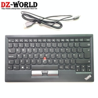New Original for Lenovo Thinkpad KU 1255 GB UK English USB Keyboard with trackpoint little red mouse computer PC laptop 03X8746