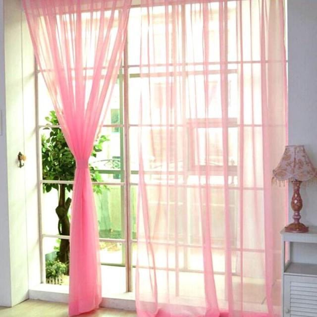 11 Colors Romantic Style Curtains for Living Room Divider Yarn String Curtain Strip Drape Decor