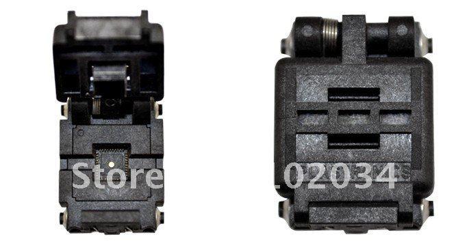 100% NEW  Plastronics 40QN50K16060 QFN40 IC Test Socket / Programmer Adapter / Burn-in Socket(40QN50K16060-F) 100% new sot23 sot23 6 sot23 6l ic test socket programmer adapter burn in socket