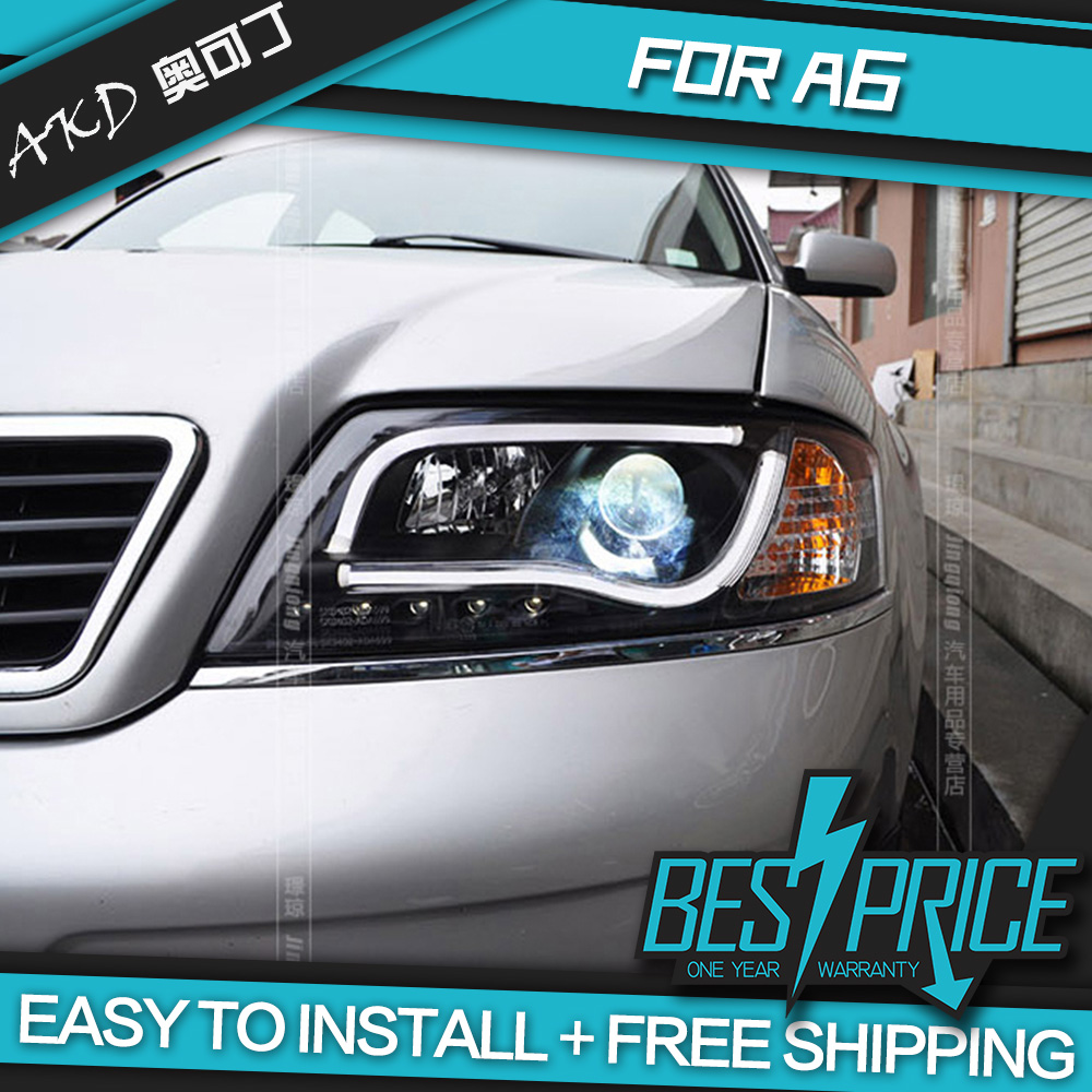 AKD Car Styling For Audi A Headlight LED Headlight ANGEL EYE LOW - Audi car price low to high