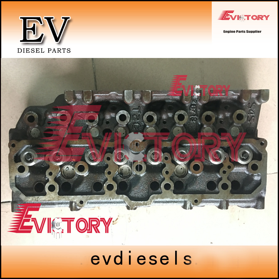 For Mitsubishi engine excavator S4S S4SDT S4SD cylinder head assy direct injection typeFor Mitsubishi engine excavator S4S S4SDT S4SD cylinder head assy direct injection type