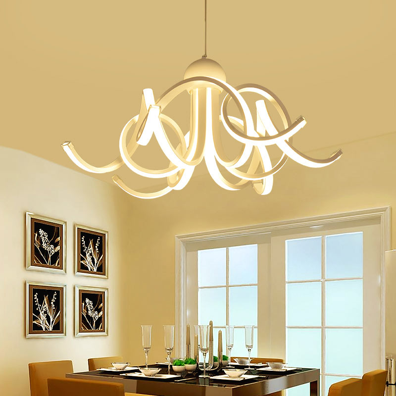 Modern led pendant light creative style home decoration avize modern led pendant light creative style home decoration avize dimmable acrylic hanging lamp with butterfly lustre blp6155 in pendant lights from lights aloadofball Images