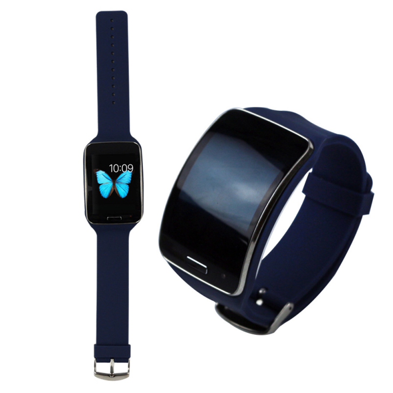 New Arrive Fashion Colorful Replacement Watch Wrist Strap Wristband for Samsung Galaxy Gear S R750
