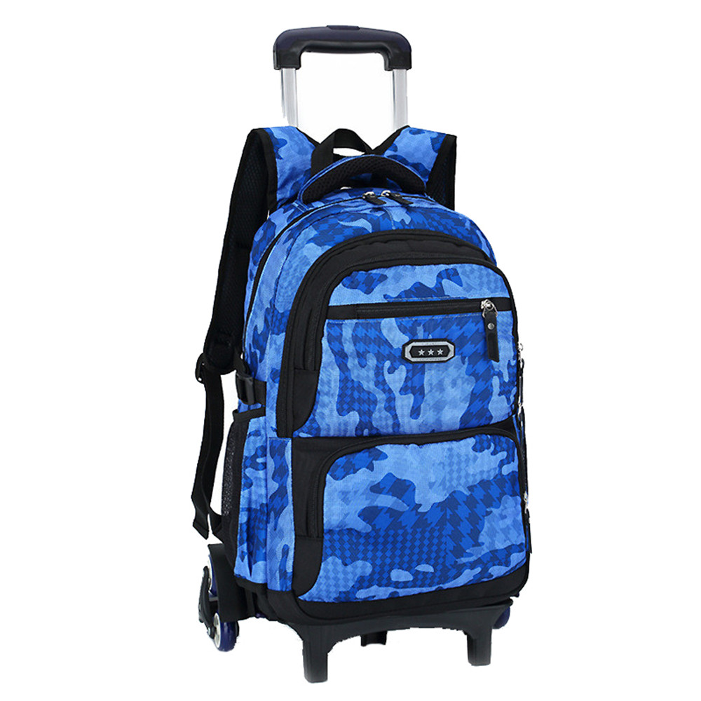 Hot Boys Trolley backpack Girls Wheeled School Bag children Travel Luggage Suitcase On Wheels kids Rolling book bag detachable