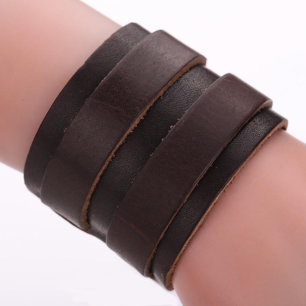 Lederarmband breit  Online Kaufen Großhandel breite lederarmband aus China breite ...
