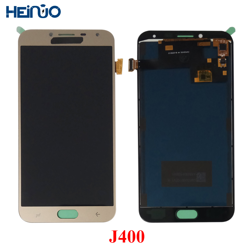 For Samsung Galaxy J4 2018 J400 J400F J400H J400P J400M J400G/DS LCD Display Touch Screen Panel Digitizer Assembly ReplacementFor Samsung Galaxy J4 2018 J400 J400F J400H J400P J400M J400G/DS LCD Display Touch Screen Panel Digitizer Assembly Replacement