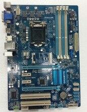 Для gigabyte ga-z77-ds3h оригинальный б z77-ds3h рабочего материнская плата для intel Z77 LGA 1155 Для i3 i5 i7 DDR3 32 Г SATA3 ATX