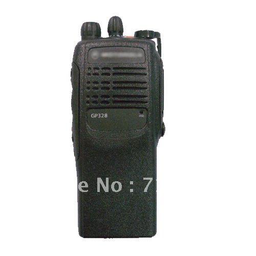 MO håndholdt walkie talkie GP328 VHF / UHF tovejs radio 16CH skinke radio 10km