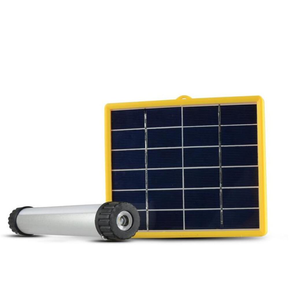 3W Multifunctional Solar Power LED Tube Lamp USB Rechargeable Solar Instructions Solar Panel for Outdoor Camp Portable 100w 12v monocrystalline solar panel for 12v battery rv boat car home solar power