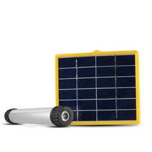 3W Multifunctional Solar Power LED Tube Lamp USB Rechargeable Solar Instructions Solar Panel for Outdoor Camp Portable