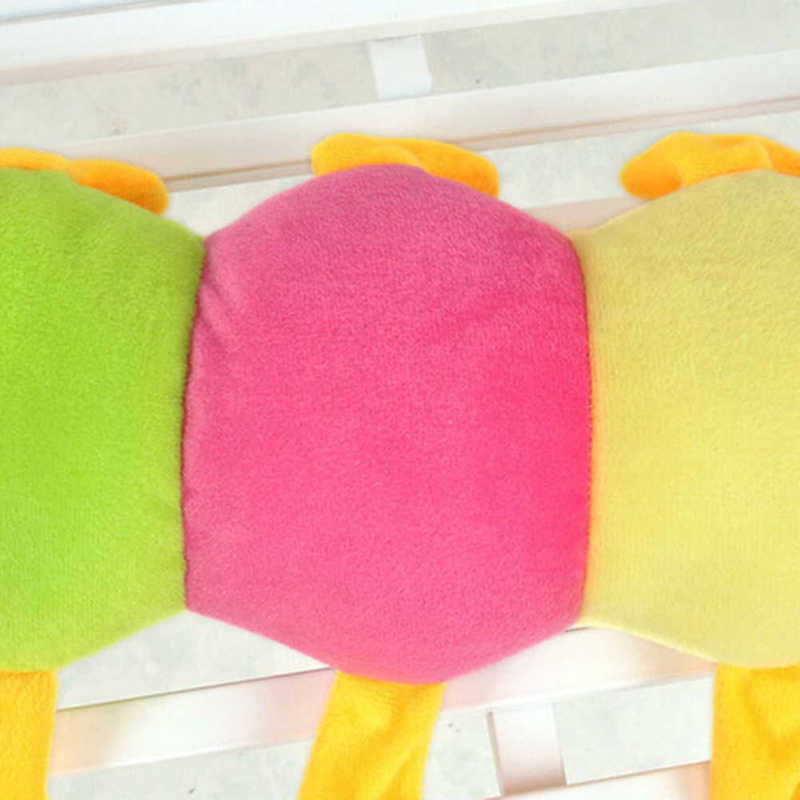 50 см красочные длинные когнитивные плюшевые червь Мягкая кукла игрушки мягкий червь Подушка образовательный подарок на день рождения