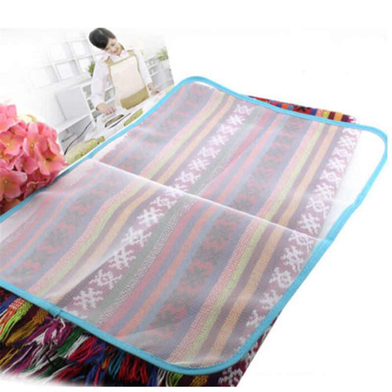 Rumah Tangga Press Cover Pelindung Tekan Mesh Uap Iron Pad untuk Menyetrika Cloth Panas Isolasi Pakaian Alat