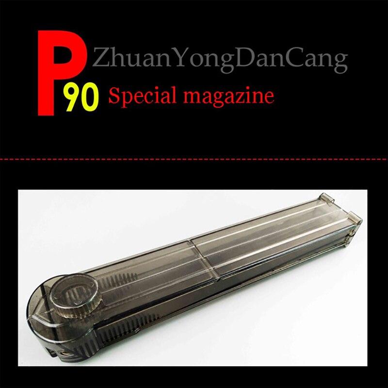 2018 gel balle jouet pistolet accessoires nerfie d'eau balle jouet pistolet pour P90 magazine En Plein Air jeu de tir