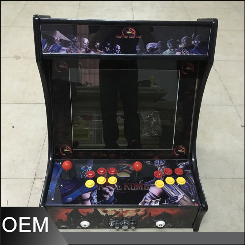 made in china mini arcade game machine using multi game board pandora's 4s sanwa button and joystick use in video game console with multi games 520 in 1
