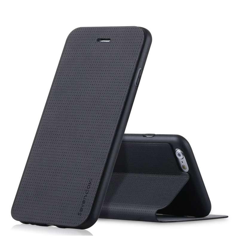 imágenes para X-Nivel de Respiración de Alta Calidad Caja Del Teléfono para el iphone 6 6 S 7 Más 5 5S SÍ PU Estuche de Cuero para el iphone 6 6 S 5 SE 7 Plus Cubierta Del Tirón
