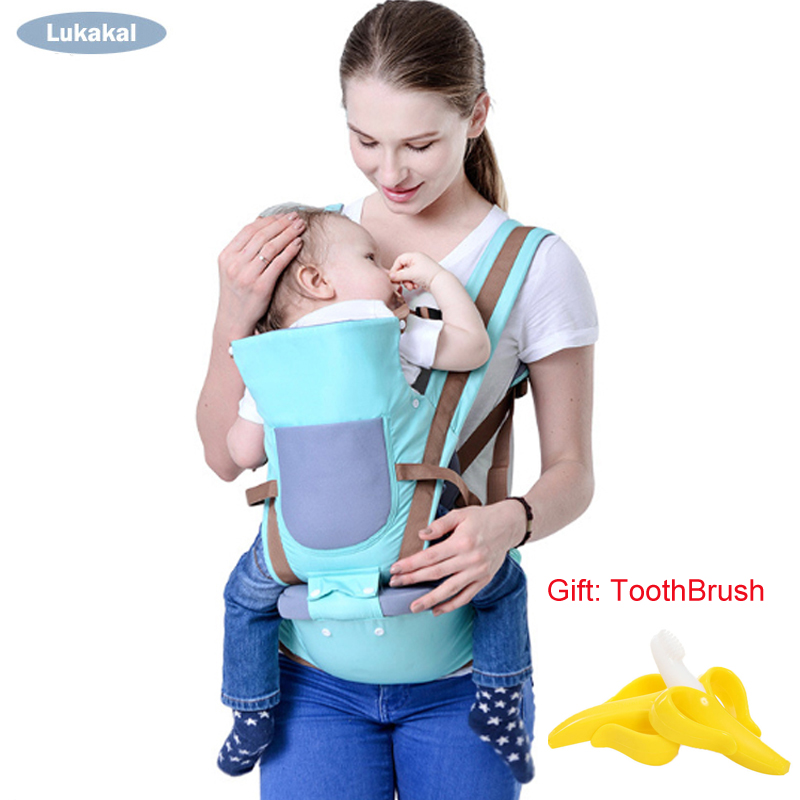 Neue Design Atmungsaktive Baby Träger 0-36 mt Vorne Baby Kangarro Gesicht zu Gesicht Baby Rucksack HipSeat Baby schlinge