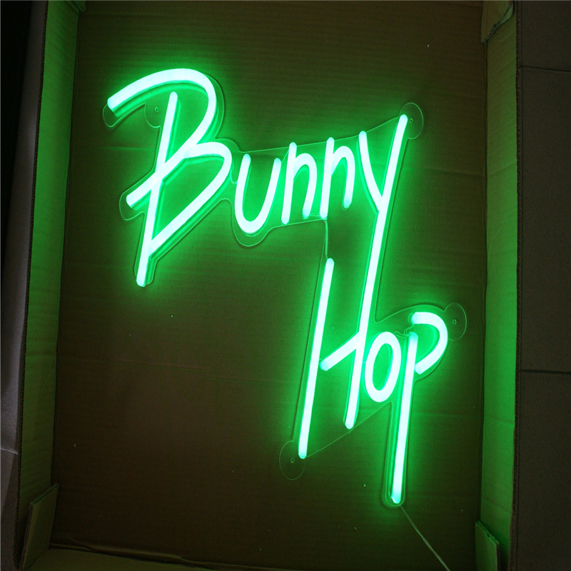 Led-Lights-Signs Salon Neon-Tube Letters Coffee-Store Barber-Shop Name Factory-Outlet