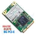 RealTek RTL8187B MINI PCI-Express Placa de wlan 802.11 b/g Sem Fio wifi PCI-E PLACA de Rede Ethernet adaptador Wi-fi gratuito grátis