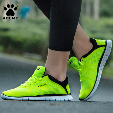 KELME Hot 2017 Women Sneakers Breathable Sport Shoes Female Running Shoes Light Sneakers For Women Shoes 34-39 Shoes kelme 2016 new children sport running shoes football boots synthetic leather broken nail kids skid wearable shoes breathable 49