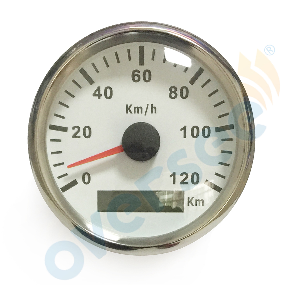3.5 inches 85mm Oversee GPS speedometer 120KM For Marine Boat Speed Boat Meter (910-00076) 0