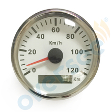 3.5 inches 85mm Oversee GPS speedometer 120KM For Marine Boat Speed Boat Meter (910-00076)
