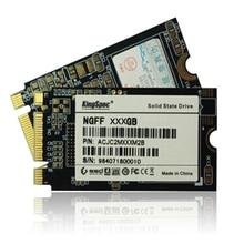 Marca nuevo pcie ngff m.2 ssd 64 gb kingspec 128 gb de estado sólido unidad de disco duro 22x42mm servidor flash mlc para lenovo thinkpad portátil