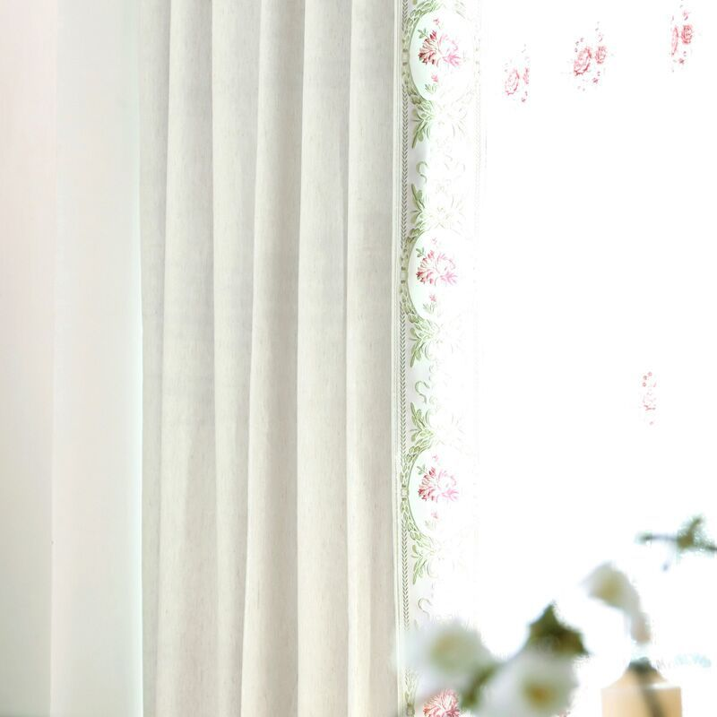 Two Colors Light blocking Noise Reducing Curtain Modern  Style - Home Textile - Photo 4